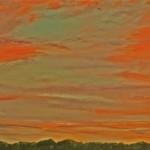 """Ithaca Dawn II (16"""" x 20"""" oil on canvas"""