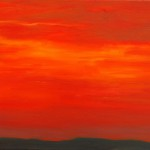"Ithaca Dawn IV (16"" x 20"") oil on canvas  ·  SOLD"