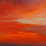 """Ithaca Dawn III (16"""" x 20"""") oil on canvas"""