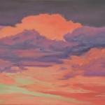 """Ithaca Dawn I (16"""" x 20"""") oil on canvas"""