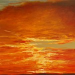 "Ithaca Dawn VII (18"" x 24"") oil on canvas  ·  SOLD"