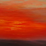 "Ithaca Dawn VIII (18"" x 24"") oil on canvas"