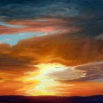 "Ithaca Dawn IX (18"" x 24"") oil on canvas  ·  SOLD"