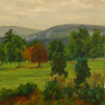 """West Hill Looking South (8"""" x 10"""") oil on canvas"""