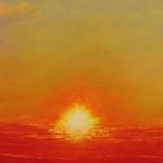 "Ithaca Dawn X (24"" x 20"") oil on canvas"