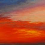 """Ithaca Dawn XI (24""""x 36"""") oil on canvas"""