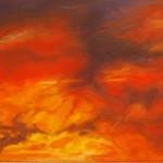 """Ithaca Dawn XIII (24"""" x 36"""") oil on canvas"""