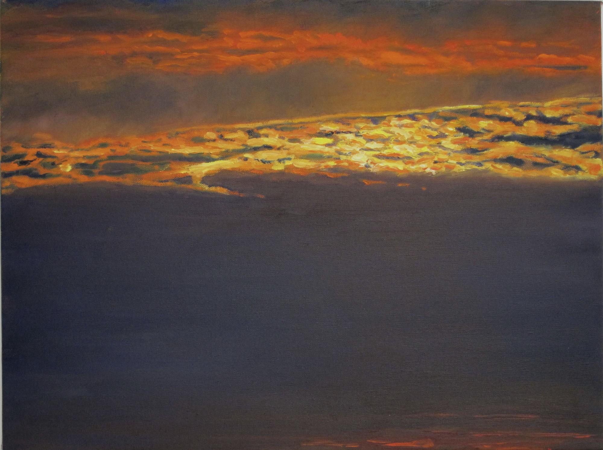 Ithaca Dawn XV (18×24)