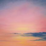"Ithaca Dawn XVI (16"" x 20"") oil on canvas"