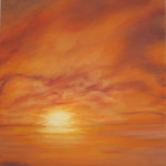 "Ithaca Dawn XVIII (20"" x 16"") oil on canvas  ·  SOLD"