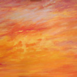 "Ithaca Dawn XXIX (24"" x 36"") oil on canvas · SOLD"
