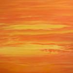 "Ithaca Dawn XXXI (36"" x 48"") oil on canvas"