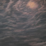 "Night Sky #2 (36"" x 48"") oil on canvas"