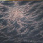 "Night Sky #4 (36"" x 48"") oil on canvas"