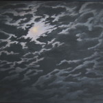 "Night Sky #9 (36"" x 48"") oil on canvas"