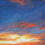 "Ithaca Dawn XXI (24"" x 30"") oil on canvas"